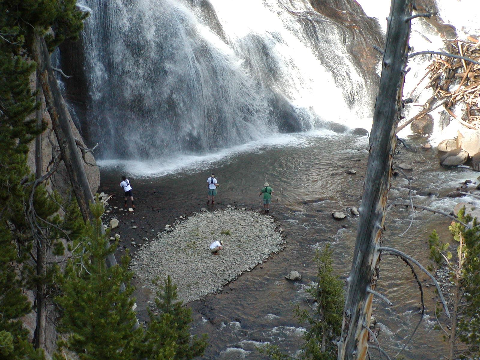 Gibbon Falls Yellowstone National Park